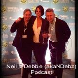 Neil & Debbie (aka NDebz) Podcast #027 -  25th Anniversary Stonewall Awards feat. Heather Peace