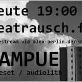 beatrausch.fm radioshow #010 // rampue*LIVEset (Audiolith Rec.)