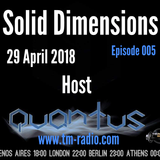 Quantus - Solid Dimensions 005 on TM Radio - 29-Apr-2018