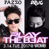 "Pazzo & Drug @ WOMB_Tokyo ""b2b set"""