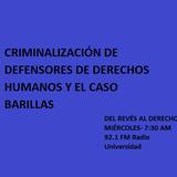 03 AGOSTO - Criminalización de defesores de Derechos Humanos y el caso Barillas