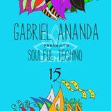 Gabriel Ananda Presents Soulful Techno 15 - Gabriel Ananda