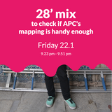 28' mix to check if APC's mapping is handy enough