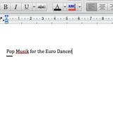 Pop Musik for the Euro Dancer