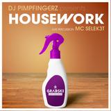 DJ PIMPFINGERZ feat MC SEL3KT - HOUSEWORK PART 1 +  live percussion