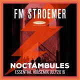 FM STROEMER - Noctambules Essential Housemix July 2016 | www.fmstroemer.de