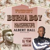 DJYEMI PRESENTs - The Burna Boy MIX @DJ_YEMI