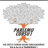 """Micheli Leccia, porte-parole de """"Parlemu Corsu"""" (Mossa di u 23 di marzu)"""