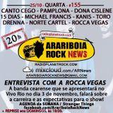 # 155 Arariboia Rock News - 25.10.2017 - Especial Rocca Vegas