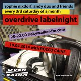 Rocco Caine @ Overdrive Labelnight // Skywalker FM 2014 05 17