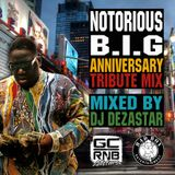 NOTORIOUS BIG ANNIVERSARY TRIBUTE MIX | MIXED BY DJ DEZASTAR