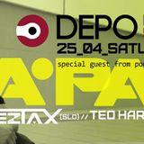 Teo Harouda @ DEPOklub, Zagreb - 25.04.2015.