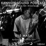 Kannon sound podcast 015: MASA