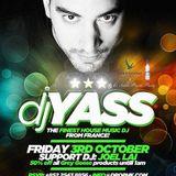 Dj Yass LIVE @ Mon Amour (Drop Club) Oct 2014