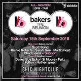 CHAD LEWIS BAKERS REUNION ON 15TH OF SEP @ CHIC PROMO MIX
