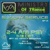 Uplifting Trance - Ministry of TRance Sunday service EP21 WK05 Feb 03 2019.