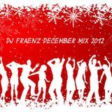 DJ Fraenz December MIx 2012