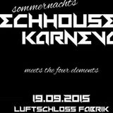 Der Sperling - In The Mix @ Tech-House-Karneval - Luft-Schloss-Fabrik FL - 19.09.2015
