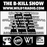The B-Kill Show ep 54 - Motown Mix