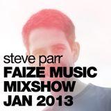 Steve Parr FaizeMix Jan 2013 (Soulful House)