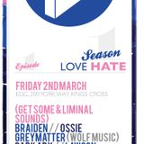 Greymatter guest mix for GET SOME & LIMINAL SOUNDS @ LOVE HATE