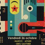Afshin @ The Djoon Experience, Djoon, Friday October 26th 2012