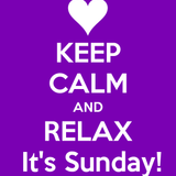 Keep Calm and Relax, It's Sunday Set #4 by TripJax