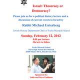 Israel: Theocracy or Democracy