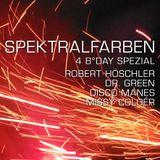 Spektralfarben N°46 >>4. B-Day Spezial<< Robert Höschler