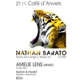 Benji @ Sirkus... The One With Nathan Barato (Café d'Anvers - 27/11/2015)