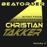 BEATORDER - mixed from the underground Volume 3