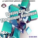 Deejay Cee @ The Unique Boutique 12-02-2017