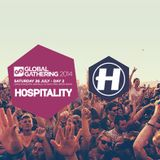 Metrik - Live at Global Gathering 2014, Hospitality Stage, Day 2 (UK) - 27-Jul-2014