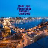 Mada - Live @ Leo Rooftop - Budapest - June 2019