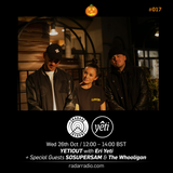 Yeti Out w/ Eri Yeti, SOSUPERSAM & The Whooligan (Halloween Special) - 26th October 2016