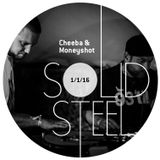 Solid Steel Radio Show 1/1/2016 Hour 2 - Cheeba & Moneyshot