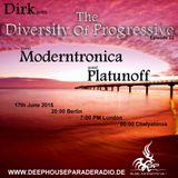 Platunoff - Guest Mix - The Diversity Of Progressive 22 (17th June 2015) on DeepHouseParadeRadio