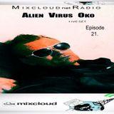 Mixcloud Net Radio Dj Live Mix Set Podcast-EPISODE-21- 2014-Alien Virus Oko(Dj Oko)