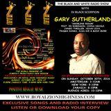 Gary Sutherland - Radio Interview on The Black and White Radio Show 10-30-16