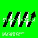 STANNY ABRAM live @ Kurzschluss 18.12.2015