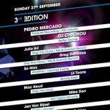 """Greg Denbosa B2B  Deejay So Max @ """"After LEVEL ONE"""" LOTUS CLUB 27/09/2015"""