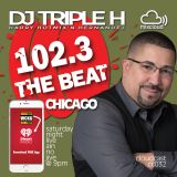 DJ Triple H on WCKG's Saturday Night Live Ain't No Jive Chicago Dance Party 2/10/2018