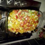 Wat schaft de pot? couscous met groentjes en harissa