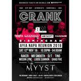 @CrankEvent Reunion Mix by @DJMysteryJ @MrScottt @DJ_Troopa @DJRaker @MrSmoothEMT @RampageSound