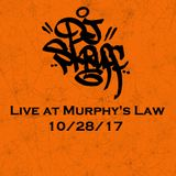 Live at Murphy's Law (RVA) 10-28-17 (Open Format Mix)