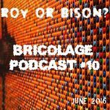 Bricolage Podcast #10 : Roy Or Bison?