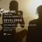 Opening Set for Developer (Berlin, Modularz) by Zita Molnar at Monarch, SF 7.22.16 (recorded live)