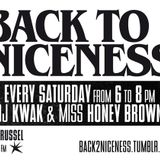 BACK TO NICENESS 11/06/11