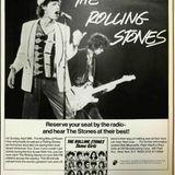 Rolling Stones - US radio (D.I.R.) 'King Biscuit Flower Hour', 29 April, 1979