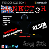 SWR Afternoon House Show with Nect3r 8-8-18 Special Guest DJ Graeme Richardson